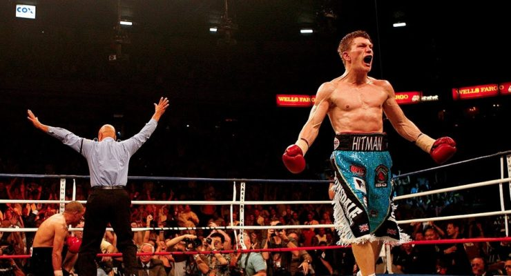 El Debut de Ricky Hatton