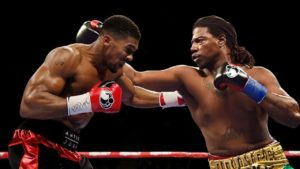 Anthony Joshua vs Charles Martin