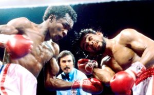 Sugar Ray Leonard vs Roberto Durán I