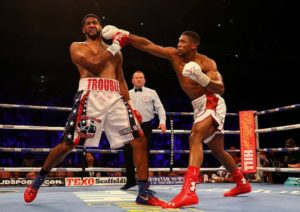 Anthony Joshua vs Dominic Breazeale