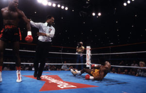 Thomas Hearns vs Iran Barkley